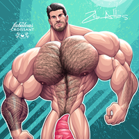 Famous Bread: Zeb Atlas by TheFabulousCroissant