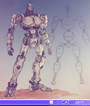 the Great Spirit Robot by Just-a-drawing-Cat