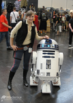Han Solo @ Star Wars Celebration 2013 by Madenice