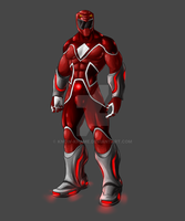 Red Ranger by Know-Kname