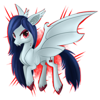 Marceline, the Vampire Fruit Bat Queen by Wolframclaws
