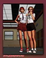 Nikki School Uniform by tkdoherty