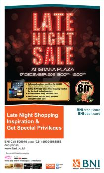 Istana Plaza | Late Night Sale by gerysisiput