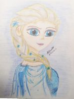 Elsa The Snow Queen by Bre-Ce-Cuca