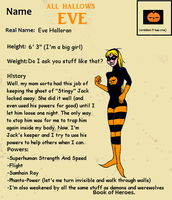All Hallows Eve Character Profile by ivy7om