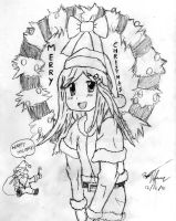 Anime 2010 Christmas Greeting by Lehvorak