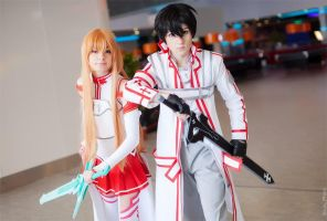 Asuna and Kirito 9 by AmethystPrince