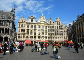 Brussels. Grand Place by MaRyS90
