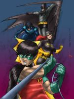 Gotham Knights by Joe Davis by Blindman-CB