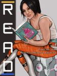 Chell for Apeture Science Library by akatheToad