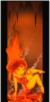 Flame Princess by 14-bis