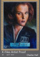 x-files artist proof 3 by charles-hall