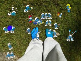Smurf Feet by Manipulate-It
