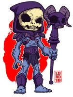 Lil Skeletor by lordmesa