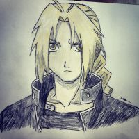 Edward Elric by lulujweston