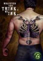 INKHOLICS TATTOO MAGAZINE AD 1 by ketology