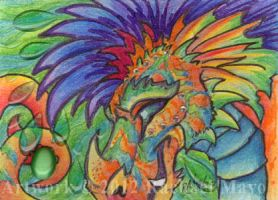 ACEO Jazzdragon 02 by rachaelm5