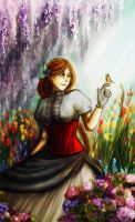 Summer garden by Miriel3