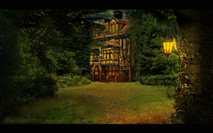 The enchanted house by GeneRazART