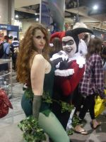 Poison Ivy and Harley by mjac1971