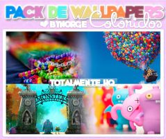 Pack Wallpapers Coloridos. by Norgelys