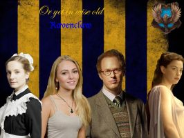 Wise Old Ravenclaw by KatePendragon