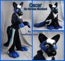 Oscar the Gshep by PlushiePaws