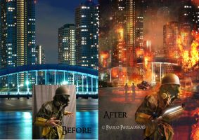 Before - After See u in hell by paulauskas