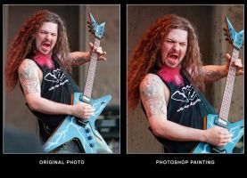 Before After Dimebag by VoodooHammer