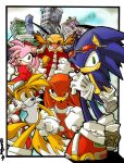 Old-Sonic and Co by herms85
