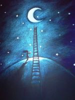 To the Moon and back by Sakich