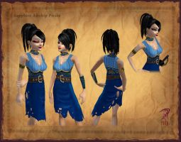 Sapphire Pirate Wear by Hyptosis