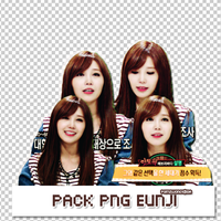 Pack PNG EunJi by pomzwon01