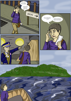 Cat Island page 1 by Vez