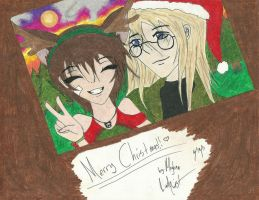 SxH Christmas -colored- by Midnight--Comet