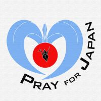 Pray for Japan - Blue by ayukat