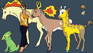 Sadie and Team Reference Sheet by ary