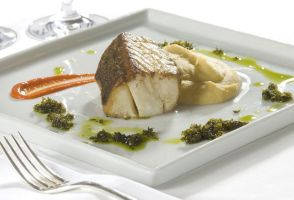 Cod Loin with Puree by Markhal