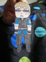 Albert Wesker the paper doll by Luckyoctopus