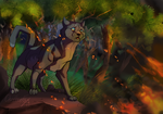 Fire destoryed my clan by ChatterFox