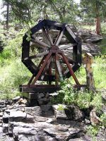 Water Wheel by sexykitty2385