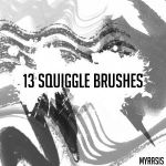 Squiggle Brushes by draconis393