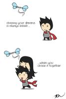 Chasing Your Dreams Together by kelvin-oh89