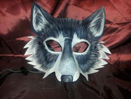 Gray Wolf Mask #7 by Jedi-With-Wings