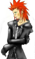 Axel Lineart Colored by Akusreu