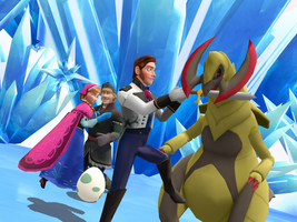 MMD Frozen-PKMN - Died laughing for... by JackFrostOverland