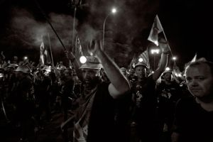 Black March protest by BaciuC