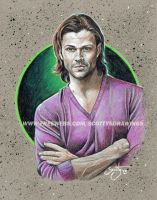 SUPERNATURAL- Sam Winchester (2015) by scotty309