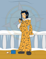 Robin's Winter Treat 2 by Dragon-FangX