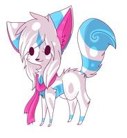 .: Ice Chibi :. by Frosty-Kitteh